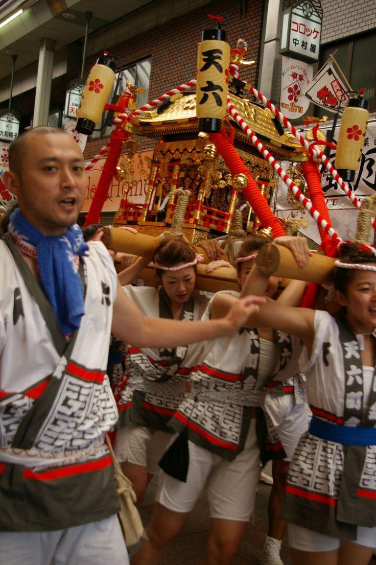 いまさらとは言わないで!天神祭2014レポの巻http://ameblo.jp/hangyo-kun/entry-11902098516.html