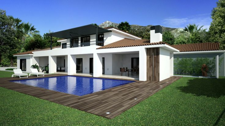 Full screen images of 4 Bedroom Villa for sale in Nagueles Spain - Spanish Hot Properties Reference 209948