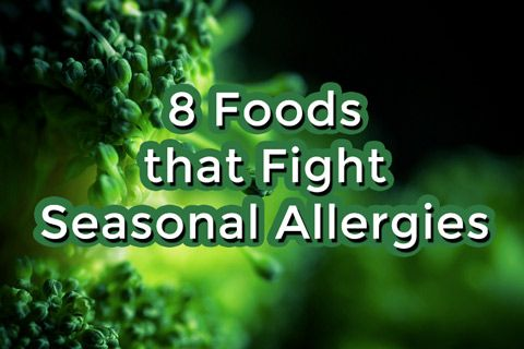 8 foods that can help fight the symptoms of seasonal allergies