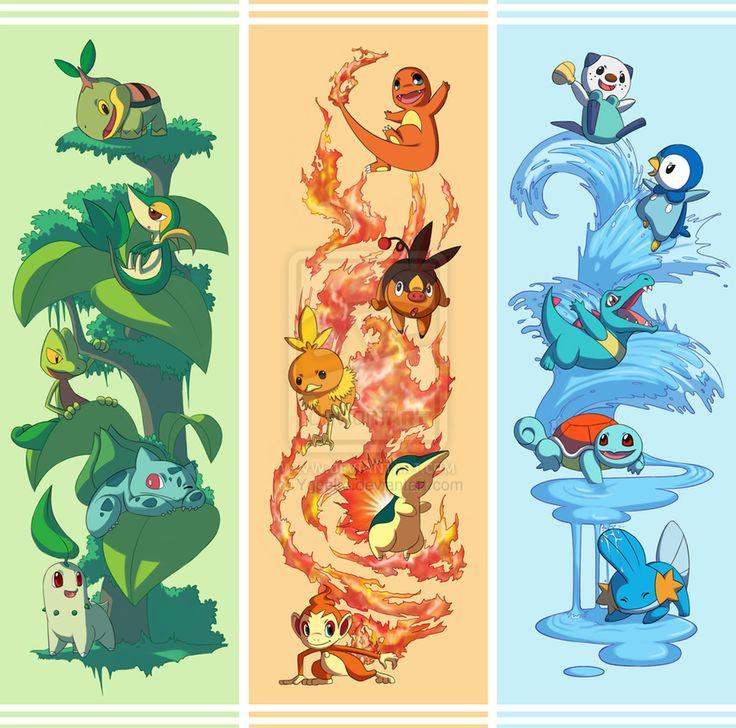 Cute Starter Pokemon Wallpaper | www.pixshark.com - Images ...
