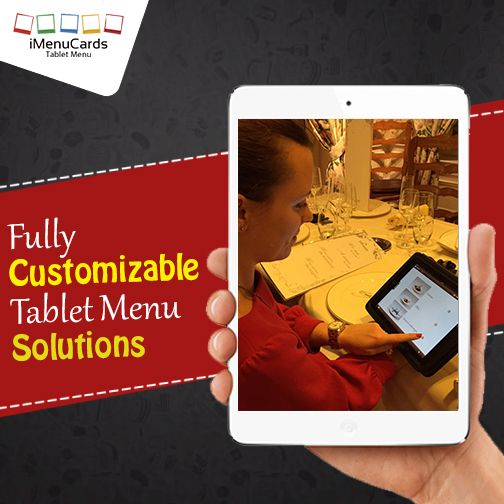 iMenuCards offers numerous advanced customization features. Know more here: http://www.imenucards.in/   #TabletMenu
