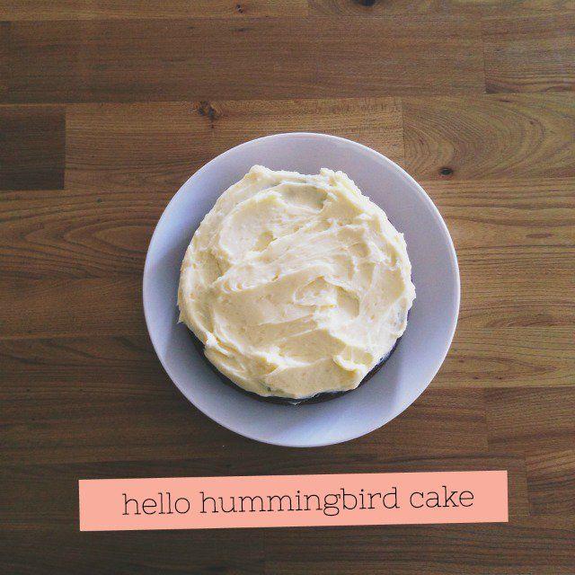 Festival of birthdays: Hummingbird cake - Fat Mum Slim
