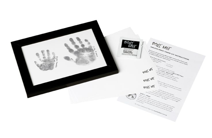 Bundles of Love - Belly Art Inkless Frame Kit, $34.95 (http://www.bundlesoflove.com.au/belly-art-inkless-frame-kit/)