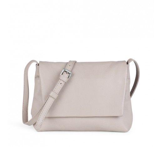 Carla Crossbody Bag in nude leather // Markberg
