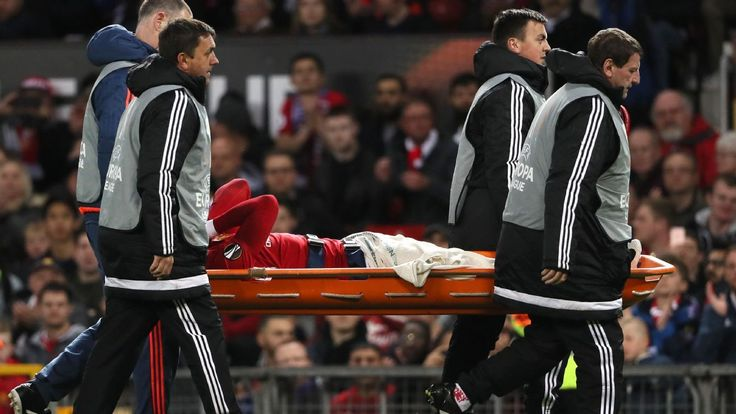 Man United's Rojo out for season with cruciate ligament injury - reports