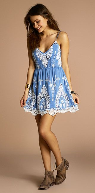 I don't know if I could pull off the color, but I love the dress