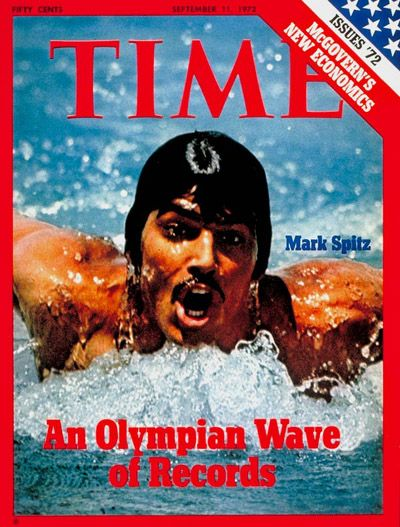 TIME Magazine Cover: Olympic Record Holder Mark Spitz -- Sep. 11, 1972