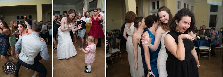 wedding reception at Josephine Butler Parks Center