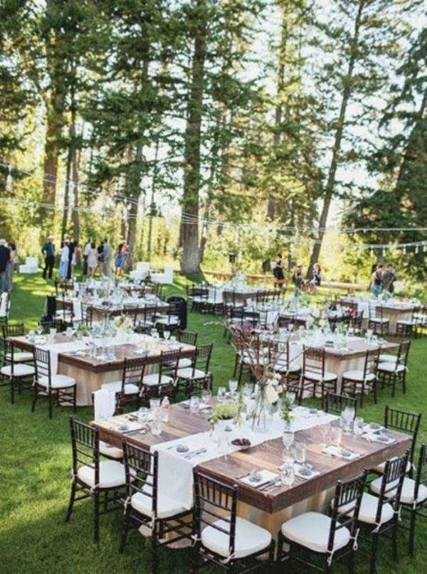 mariage original au milieu de la forêt