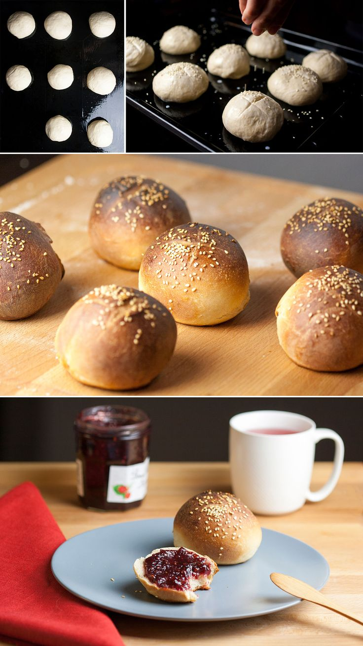 Delicious vegan brioches, perfect for lazy weekend breakfast, with jam and a cup of coffee or tea #vegan #baking #vegan baking