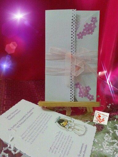 Tarjetas e Invitaciones Liluz. Primera Comunión. Pereira, Rda. WhatsApp: 312 7178685