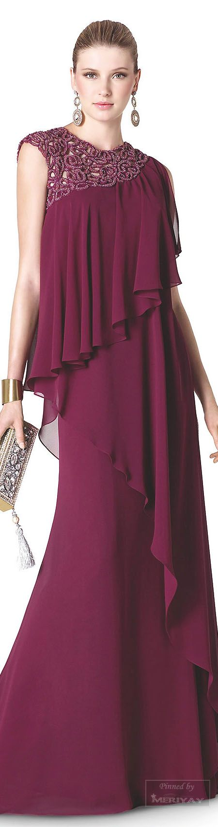 Idea de color para vestido.