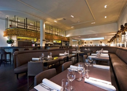 The menu at Cotidie, London W1, consists of modern Italian dishes made from locally sourced ingredients.