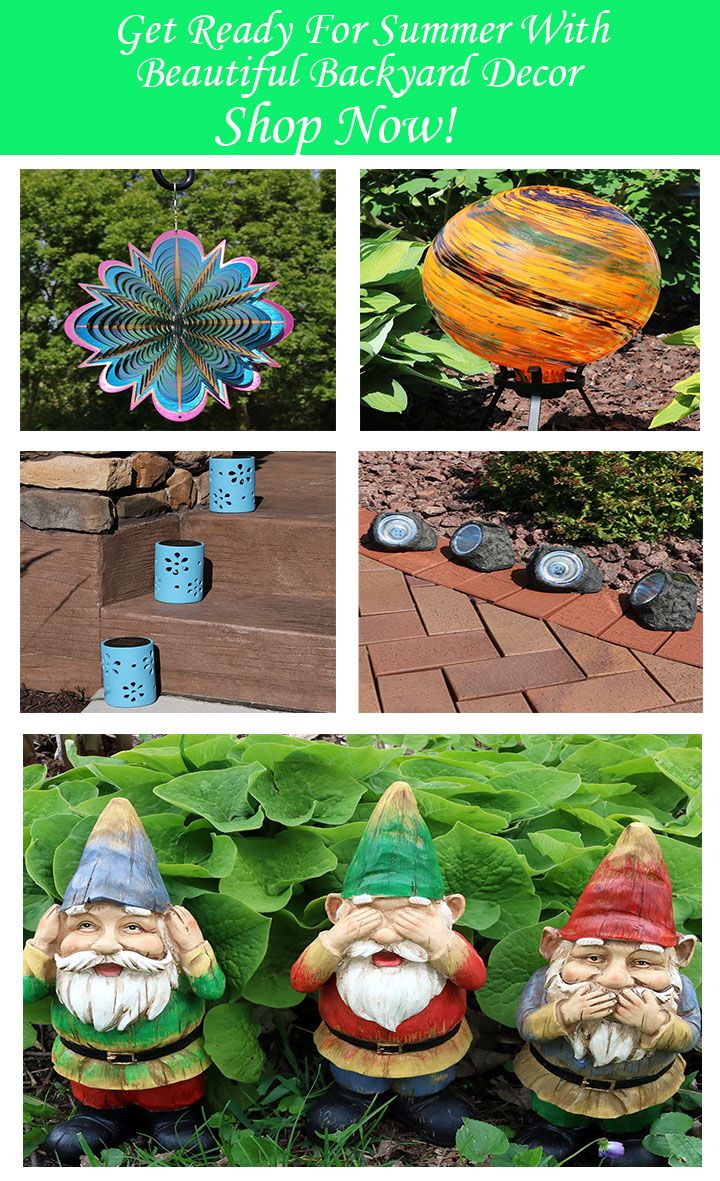 Enliven Your Garden Vision With Decor From Serenity Health Including Benches Planters Gazing Balls And More