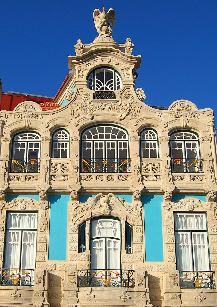MUSEU DE ARTE NOVA, Aveiro. Portugal (the Museum of new art) Art Nouveau