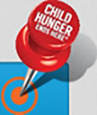 Join ConAgra Foods and P&G in the fight to end child hunger—it all starts with a code. #childhungerendshere