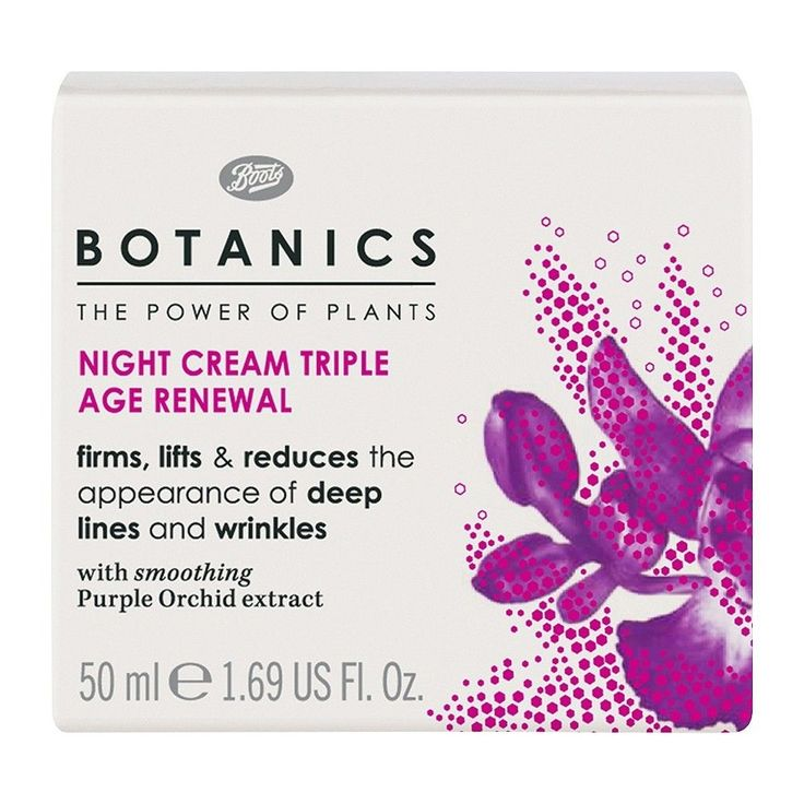 Botanics Triple Age Renewal Night Cream - 1.69 oz