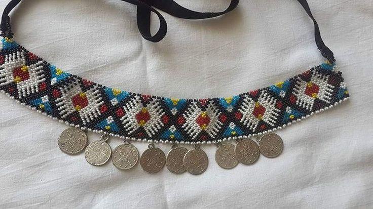 Beads#boncuk#çok çalışmak#tülin ayaz#kolye#etnic#