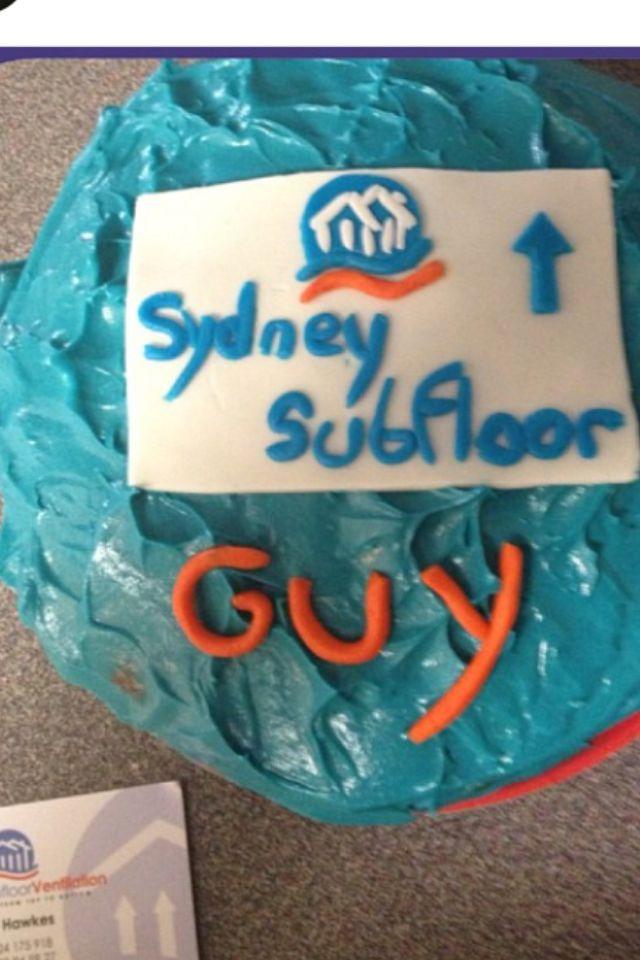 Sydney subfloor cake