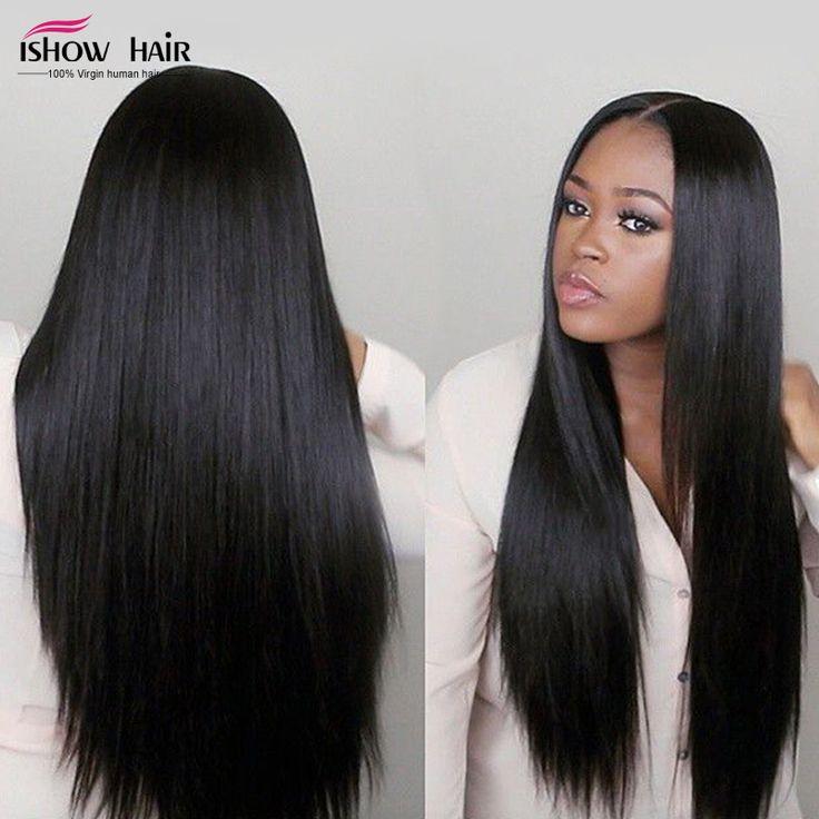 Péruvienne Vierge Cheveux Raides 3 Bundle Offres 7A Non Transformés Vierge Péruvienne Droite Armure Faisceaux Bon Marché de Cheveux Humains Weave En Ligne