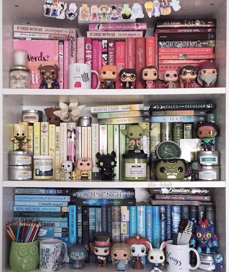 Image Result For Nerd Bookshelf