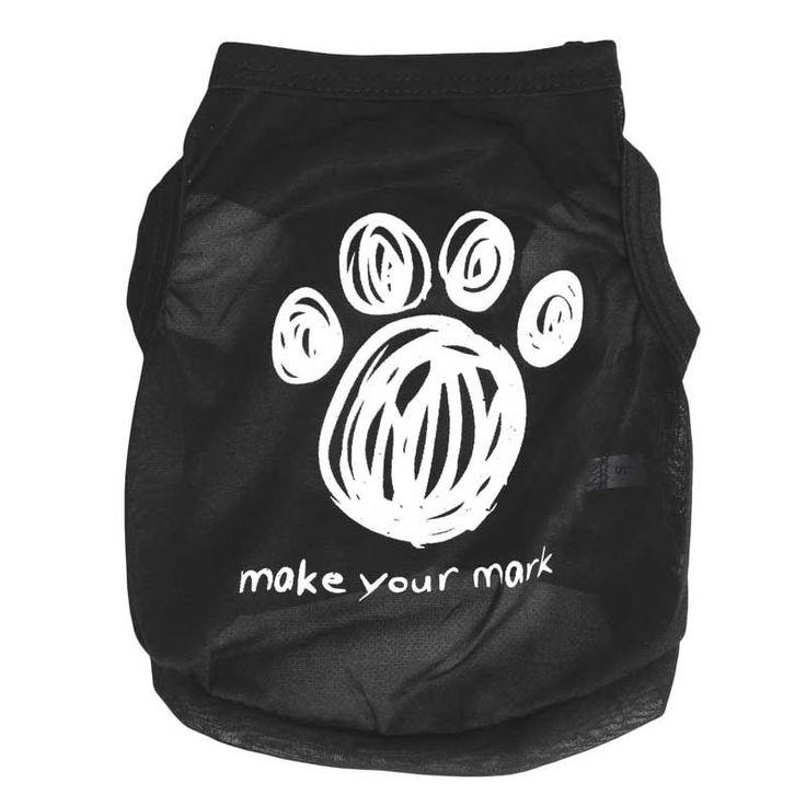 Cheap Verano Ropa para Perros Pequeños Ropa Del Chaleco de La Camiseta Negro Fresco Pequeño Gato Sudadera Perro Ropa para Mascotas (XS L) Chihuahua York, Compro Calidad Chalecos para perro directamente de los surtidores de China: Chaleco Lindo Perro Camiseta Ropa de verano 2015 Nuevo Algodón Negro Fresco Pequeño Gato Sudadera Perro