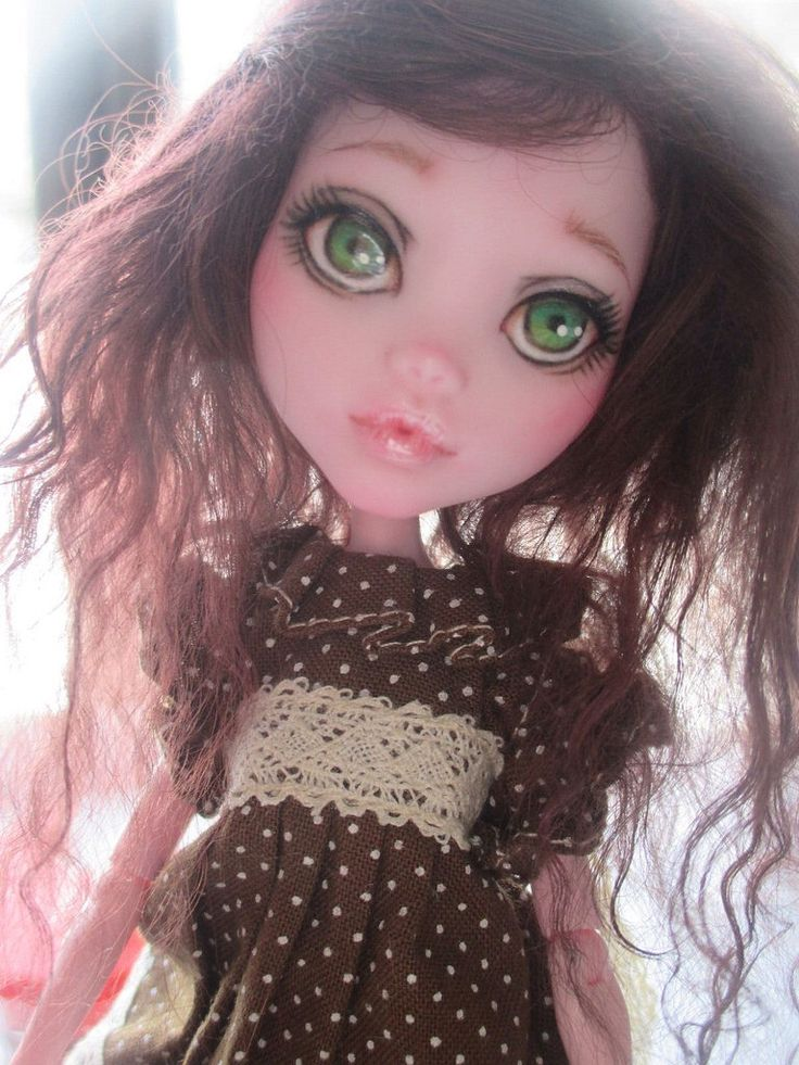Custom OOAK Monster High Draculaura Doll Repaint