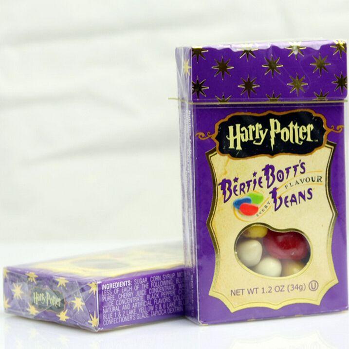 Новый 34 г сладкий конфеты бин странные вкус закуска гарри поттер драже конфеты бин Boozled хэллоуин рождественский подарок