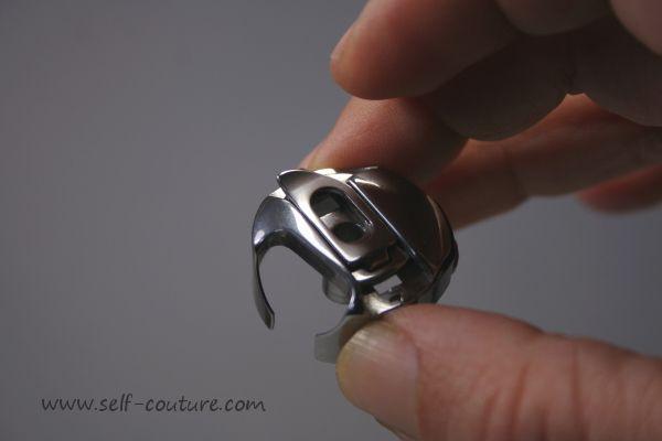 Explications pour régler la tension du fil de la canette, photos et vidéo, méthode yoyo.