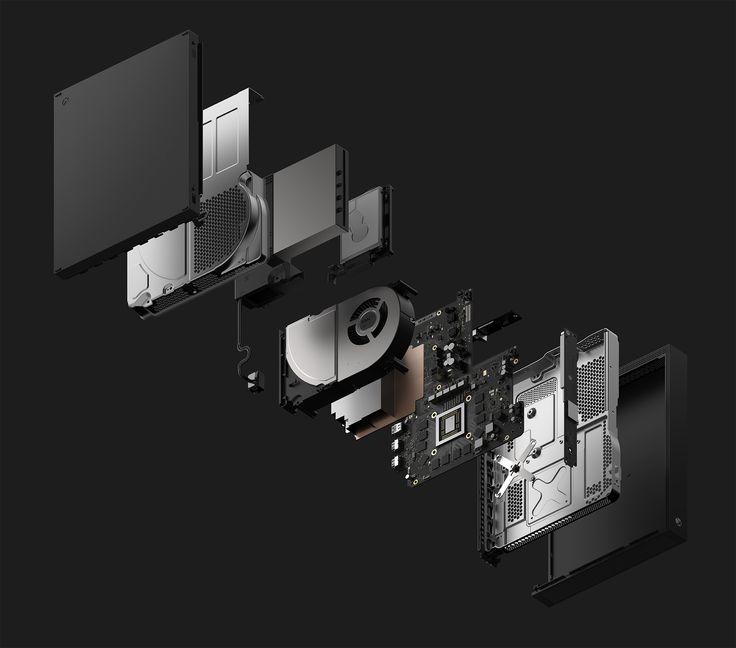 【E3 17】微軟正式發表 Xbox One X 主機 將向下相容遊戲及周邊 - 巴哈姆特