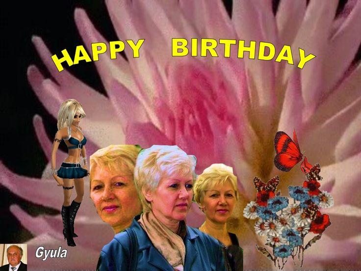 HAPPY  BIRTHDAY   VERONIKA!! Jó mulatást!!! by Gyula Dio  via slideshare