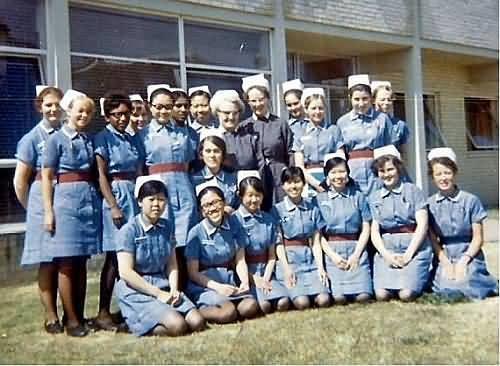 The Mayday Hospital School of Nursing 1970 Intake