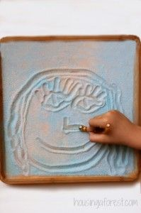 Pixi Stix Learning Tray ~ Candy play