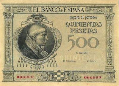 AÑO 1925 - QUINIENTAS PESETAS