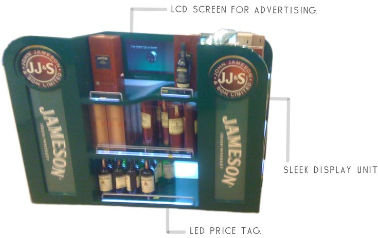 POS Display for drinks - I really like this one.