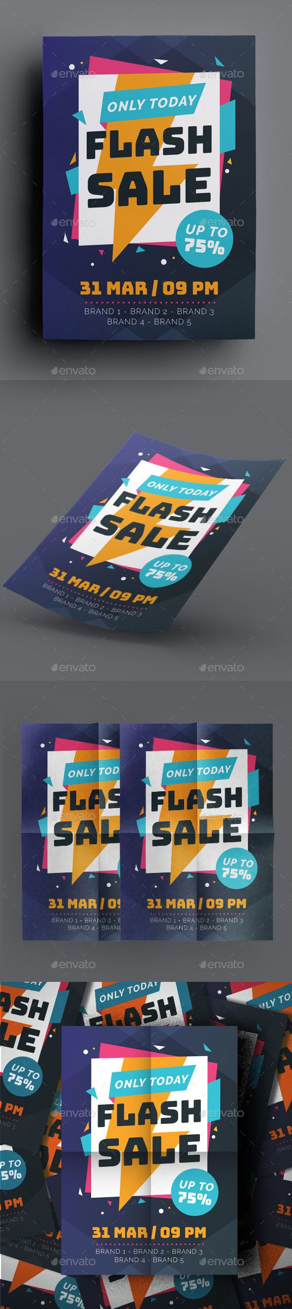 Download Flash Sale Flyer - Flyers Print Templates Download here ...