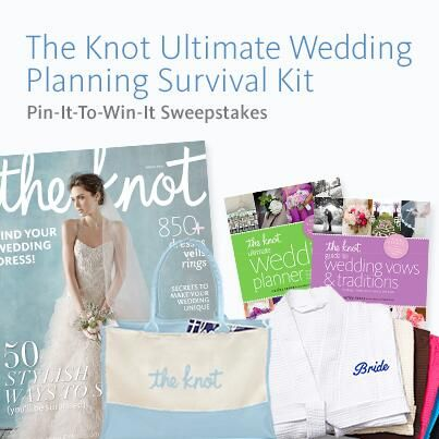 The Knot Your Personal Wedding Planner Pinterest Survival Kits Weddings And