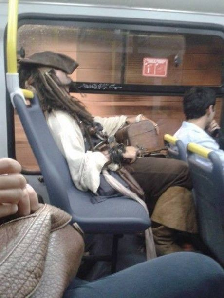 One can only wonder, is this Johnny Depp?
