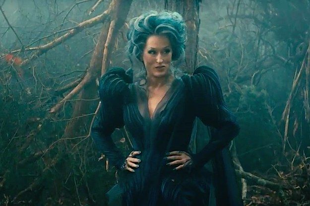 Into the Woods sneak peek And Meryl Streep sounds pretty gorgeous.