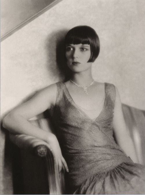 """""""Louise Brooks is the only woman who had the ability to transfigure no matter what film into a masterpiece. Louise is the perfect apparition, the dream woman, the being without whom the cinema would be a poor thing. She was much more than a myth, she is a magical presence, a real phantom, the magnetism of the cinema."""" -Ado Kyroit, French film critic as quoted in Lulu in Hollywood"""