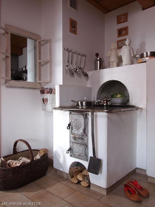 Galeria zdjęć - Rustykalna kuchnia ZDJĘCIA. Pomysł na przytulną kuchnię - zdjęcie nr 3 Urzadzamy.pl