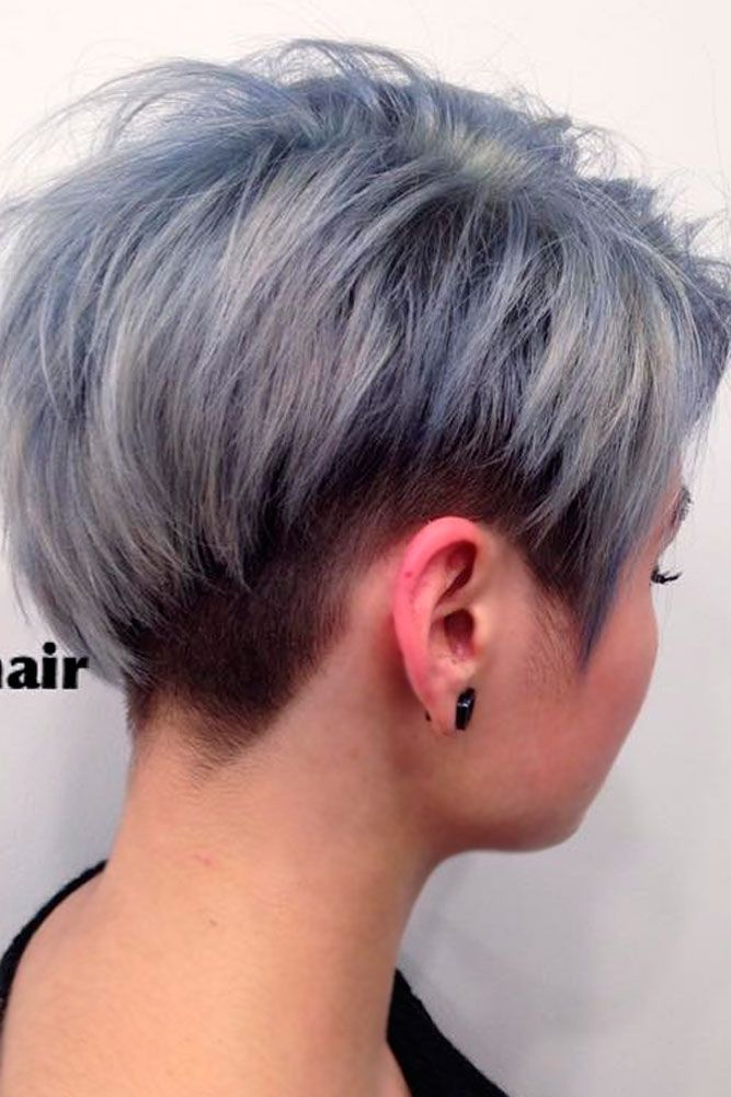 styling grey hair 25 best ideas about grey haircuts on 9216 | 57d4f29425de70e38eeab30bf82d65d5 how to wear short grey hair