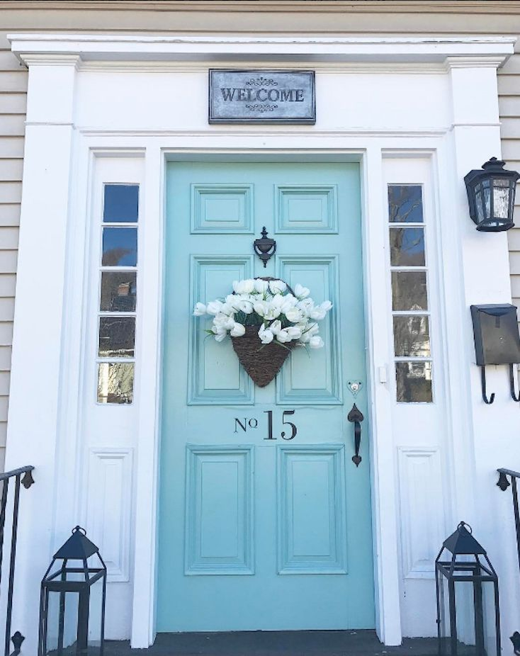 Popular Front Door Colors best 25+ door paint colors ideas only on pinterest | front door