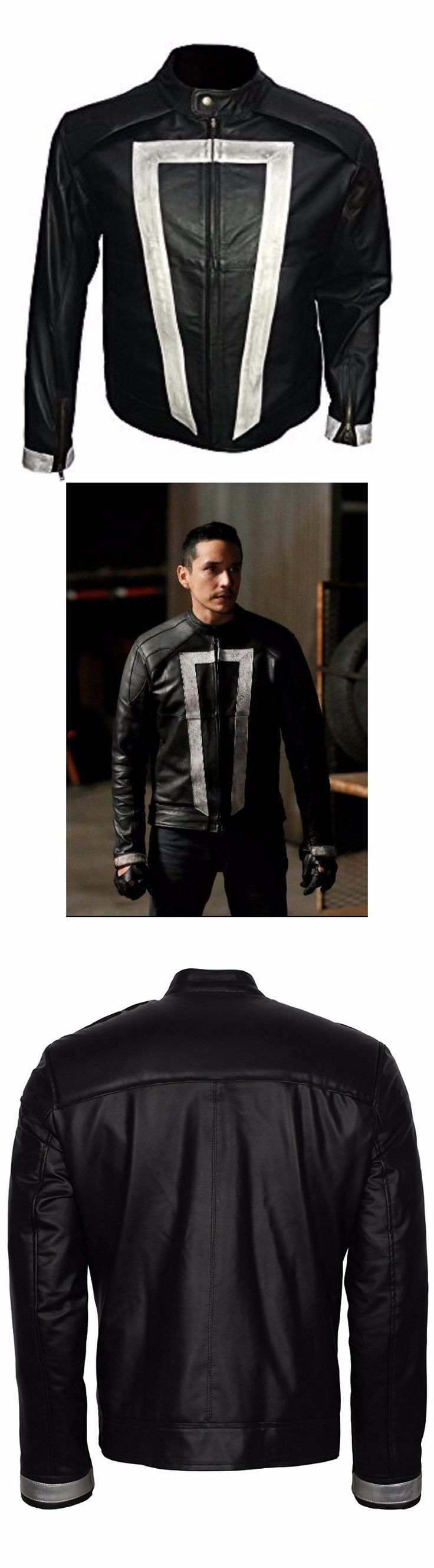 One of the Best Selling Jacket Ghost Rider Agents of Shield is now available in our online store Omu. Get this jacket now and give beautiful Christmas present to your love one. Hurry Up!!!! Place your order now and get discount.