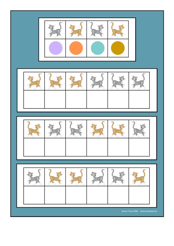 Board for the mirrored cat fill in game. By Autismespektrum.