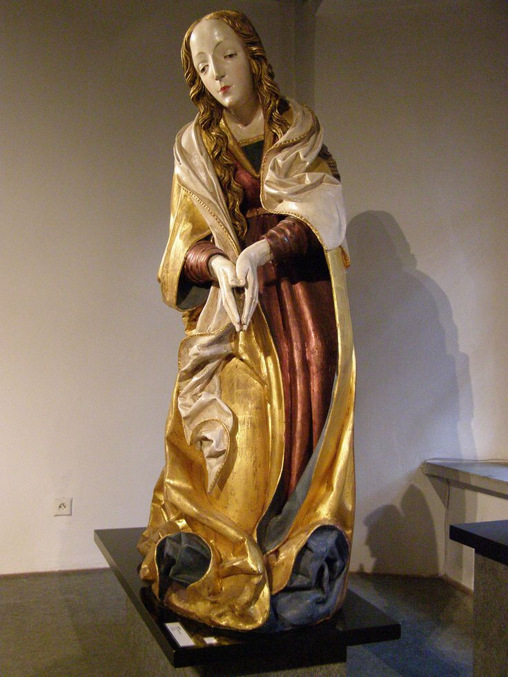Master Paul of Levoča, Virgin Mary from the Nativity scene, c 1510-1515 | Flickr - Photo