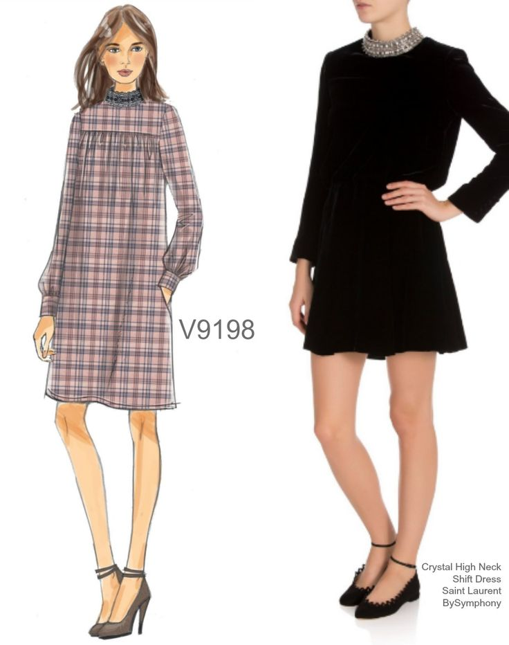 Sew the Look: Vogue Patterns V9198 shift dress pattern