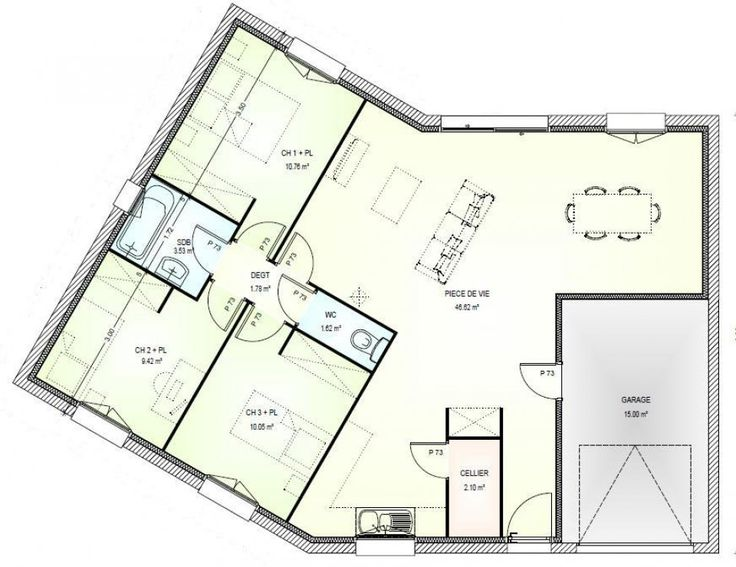 14 best Bathroom layouts images on Pinterest Free floor plans