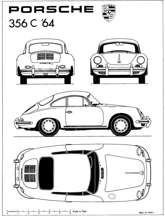 30 best Car BluePrints images on Pinterest - best of car blueprint in hd