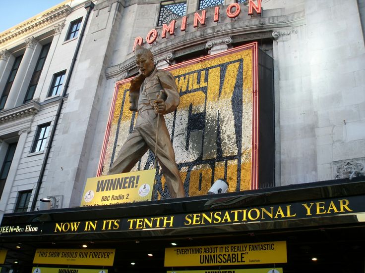 12.9.2011 The Dominion Theatre, Tottenham Court Rd, London. Awesome show!!